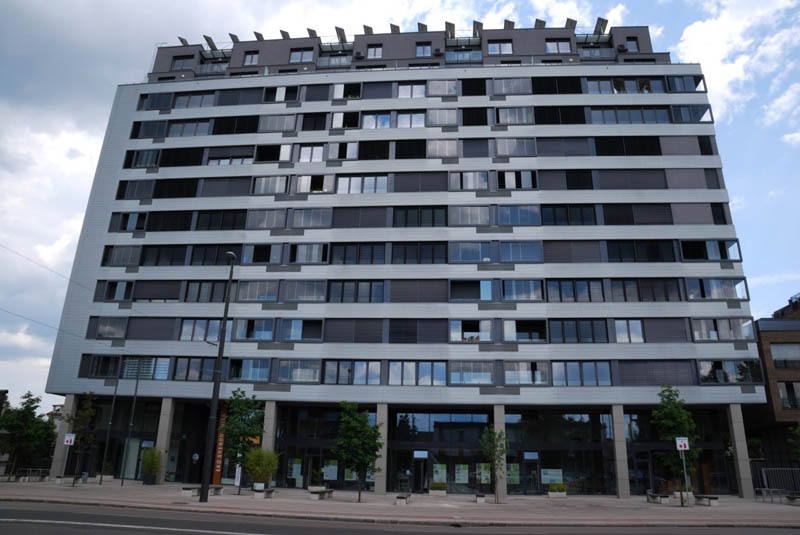 Eco Silver House multiresidential building