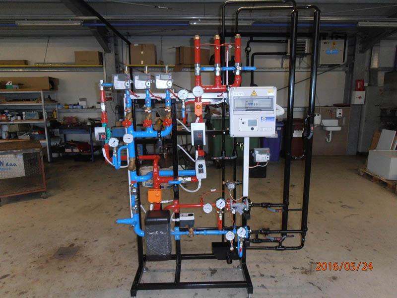 Heating substations