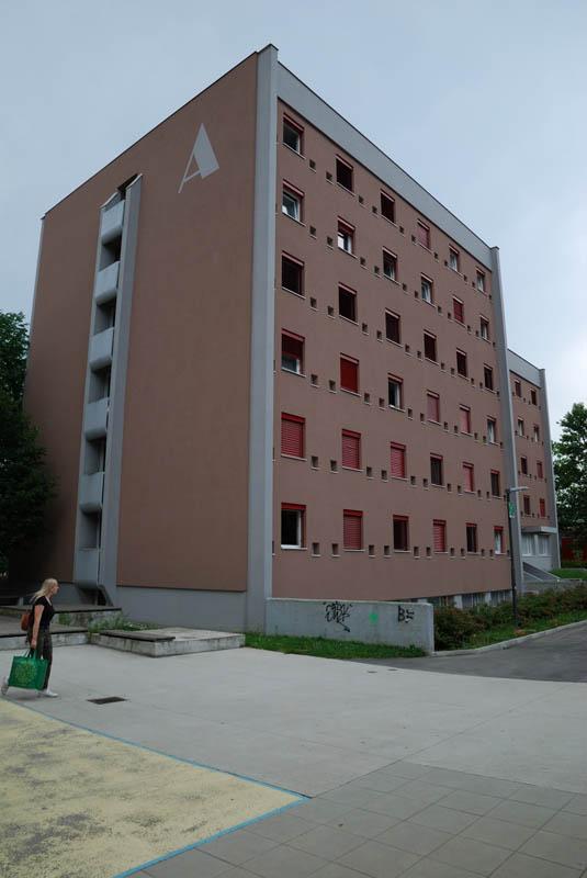 Študentski dom A, Ljubljana (2019)